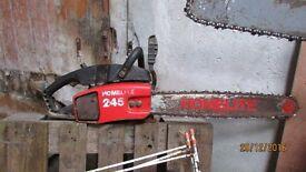 chainsaws x3