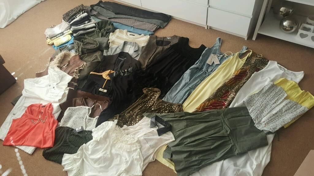 Bundle of women clothes size 8-12