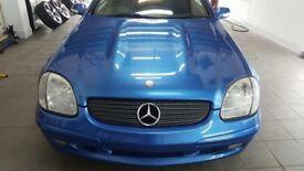 Mercedes SLK convertible 3.2 V6