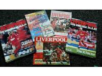 Old liverpool programmes