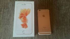 IPhone 6s 64gb Rose Gold Factory Unlocked With Many Free Extras!!!