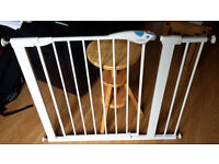 Lindam safety gate plus 14cm extension