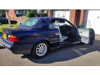 BMW covertible automatic,classic I year, mot central lock , leather seat service h