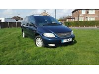 Chrysler Grand Voyager 2.5 CRD LX - 1 year MOT