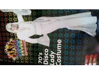 Disco lady fancy dress costume