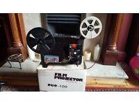 Vintage Super 8 Projector ,Super 8 Camera and 5 Films ,needs belt and bulb ....Great....