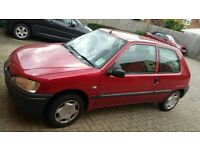 Peugeot 106 60k miles 1.1 Quick Sale Needed