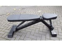 HEAVY DUTY COMMERCIAL GYM WEIGHTS BENCH