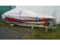 18ft speedboat and trailer