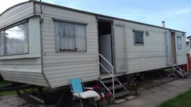 STATIC CARAVAN FOR SALE DUE TO EMIGRATION. RENOVATION IS WIP!! PERFECT FOR STARTER HOME