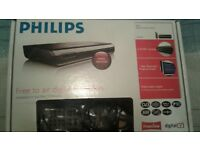 PHILLIPS SET TOP FREEVIEW BOX BOXED EXCELLENT