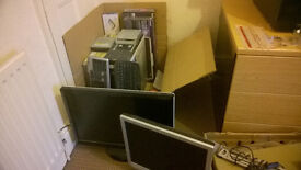 """Collection of PC accessories - Monitors/keyboards/ODDs/2.5""""enclosure/Case"""