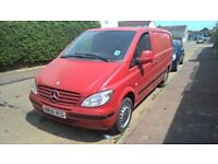 -CHEAP GOOD VAN-2005 MERCEDEZ BENZ VITO 2.2 DIESEL 5DR MANUAL(LONG MOT)