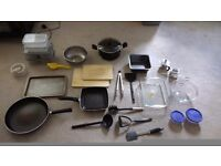 Various kitchenware - can be sold separately