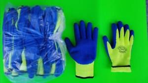 CHTOOLS Gloves Latex Knitted Insulated Green one Dozen Reg $ 60 Sale $30