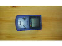 Gamboy Color (purple) with games - used