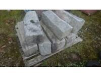 Mourne granite blocks