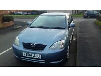DIESEL TOYOTA COROLLA 2004 FULL YEAR MOT EXCELENT CONDITION