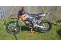 KTM 250 EXC 2008 ELECTRIC START ENDURO NOT 300 XC YZ CRF SHERCO HUSQVARNA