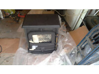Brand new, still in box Beldray woodburning stove