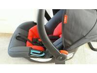 Phil & Ted Baby Car Seat (never used & excellent condition)