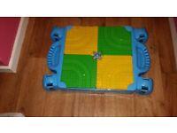 Thomas and friends build n learn mega blocks table