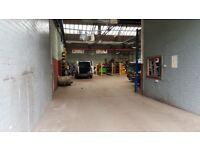 To Let large industrial unit property storage workshop for rent
