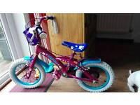 FREE 14'' GIRLS BIKE BICYCLE