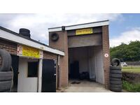 Tyre Business / Garage For Sale - Euro Tyres - Leasehold