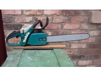 Makita dcs 5000 , 50cc ,professional chainsaw 2007, in very good condition