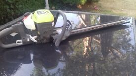 Ryobi petrol hedge cutter