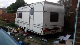caravan for sale.not toualet in.award transtar