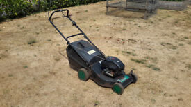 Qualcast Trojan 18s petrol lawnmower sold for Spare and Repairs