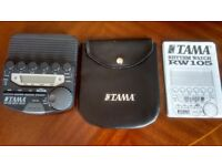 Tama RW105 Rhythm Watch + Soft Case + Instruction Manual.