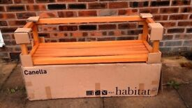 Habitat Canella Solid Wood Shelf