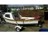 12 ft marine cabin boat