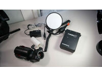 Quantum Turbo 3 Rechargeable Battery & GODOX – Witstro AD180 flash