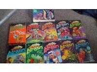 Astrosaurs books bundle 11 books