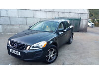 AUTOMATIC VOLVO XC60 2012 .2.4 DIESEL LUX SE FULLY LOADED. 1 OWNER. FULL VOLVO HISTORY. 90 K MILES.