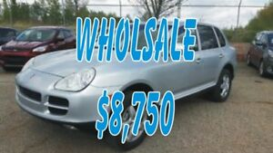 2004 Porsche Cayenne S  S V8 AWD Leather, Power Sunroof, Heated