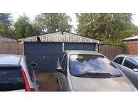 GARAGE, BIG DOUBLE Concrete Panels Garage for sale cheap multi use, storage, shed. BARGAIN