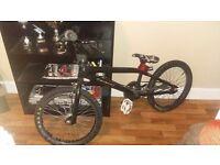 Selling black bmx bike