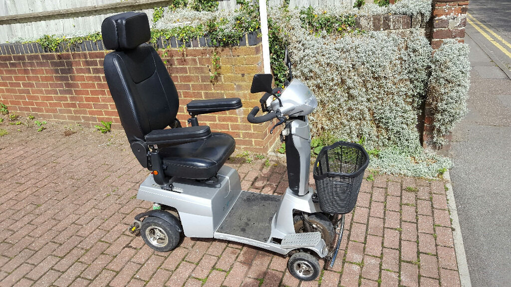 Quingo Vitess 8mph Mobility Scooter 3 Month Guarantee
