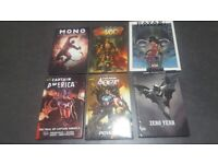 £100 Graphic Novel hardcover bundle (Marvel comics etc)
