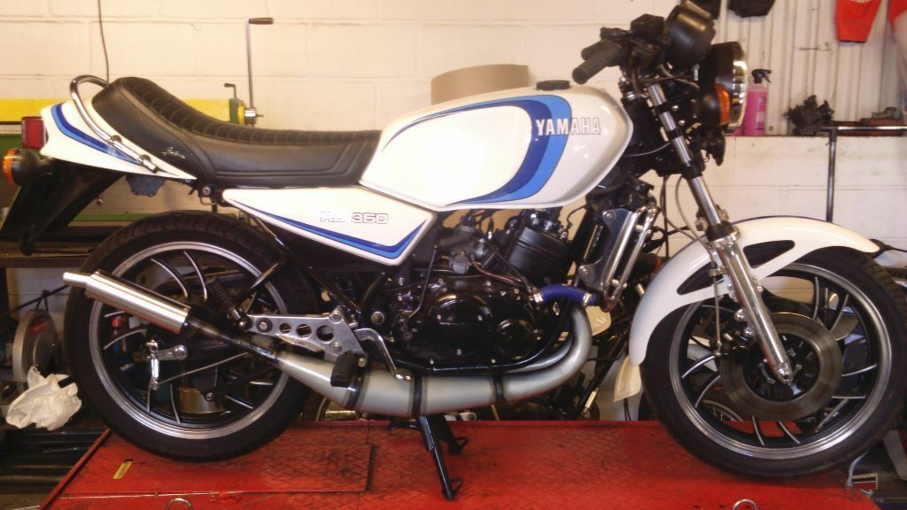 Yamaha Rd350lc Rd250lc Nikkon Exhaust Expansion Chamber
