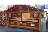 Assistant on Cheltenham Christmas Market. Enthusiastic and reliable individual needed Nov - Dec.