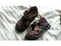 Clarks Baby Girl Shoes Size 5F