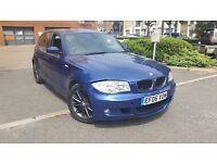 BMW 120D M SPORT LE MANS BLUE PARKING SENSORS 12 MONTHS MOT ONLY £4,200