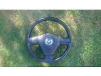 Mazda rx8 steering wheel and airbag