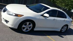 2009 Acura TSX FULL LOAD, BLANC PERLE, A-SPEC BODY KIT, RARE!